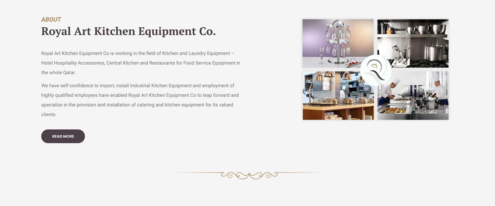 Royal Art Kitchen Equipment Qatar