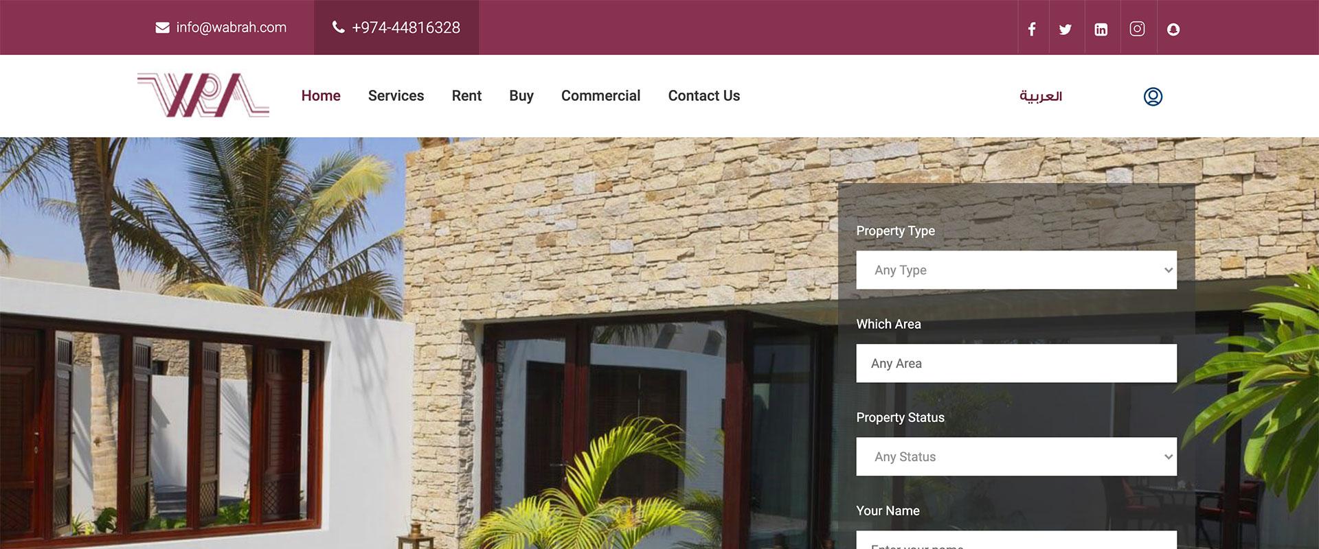 Wabrah Real Estate Qatar